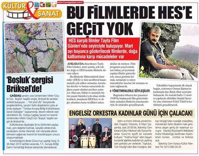Yurt Gazetesi 5 Mart 2013
