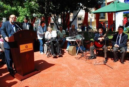 Park açılışı Belediye Başkanı Ateş Ünal Erzen