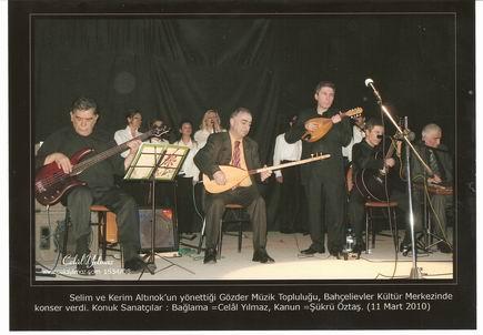 Bahara Merhaba Konseri Sahnede