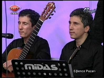 TRT1 Ekranları,Eğlence Pazarı Programı Kerim-Selim Altınok
