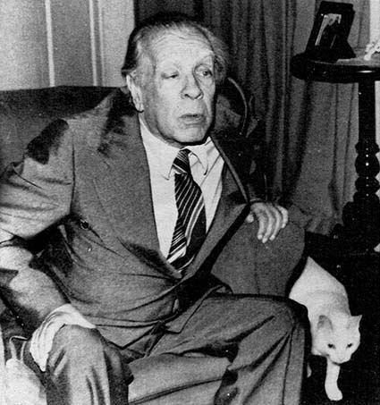 J.Luis Borges Beyaz Kedisiyle