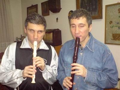 Kerim ve Selim Altınok blok flütlerle