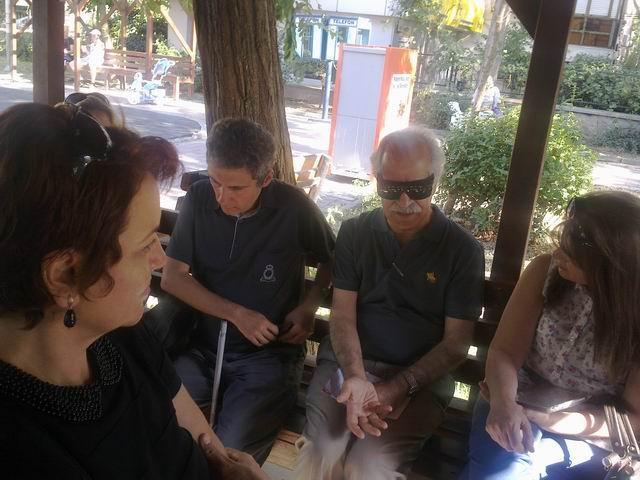 Söyleşide Selim Altınok ve katılımcılar