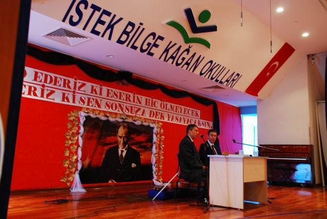 İstek Bilge Kağan Okulları Konferans