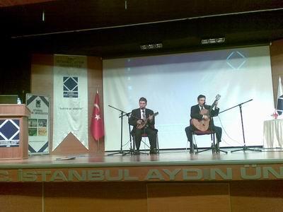 Aydın Üniversitesinde Selim-Kerim Altınok konferans-konser