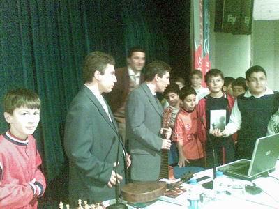 Kültür Koleji'inde Öğrencilerle Selim ve Kerim Altınok,Ilgaz Gümüştaş