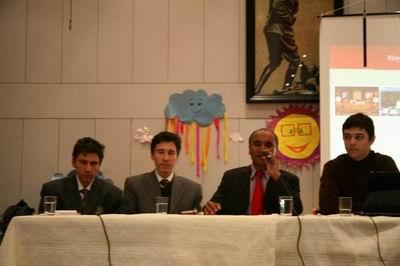 Türkân Sabancı Körler Okulu'nda konferans