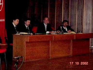 THY nın düzenlediği konferansta Selim Altınok,Kerim Altınok,Yavuz Kocaömer,Erdem Göksel ile