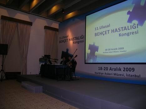 Harbiye Askerî Müzesi 11.Behçet Hastalığı Kongresi'nde Kerim-Selim Altınok