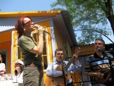 Yıkım Şenliği Konserinde Leman Sam,Kerim-Selim Altınok