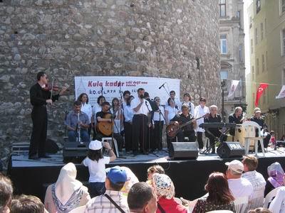 GMT Galata Şenliği Konserinde