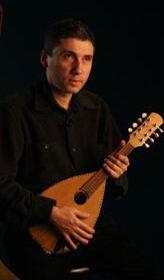 Selim Altınok mandoliniyle,Serdar Bilgili'nin objektifinden