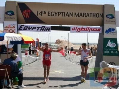 Necdet Turhan maratonda