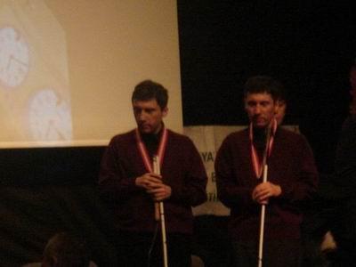 SElim-Kerim Altınok Âşık Veysel turnuvasında ödül töreni