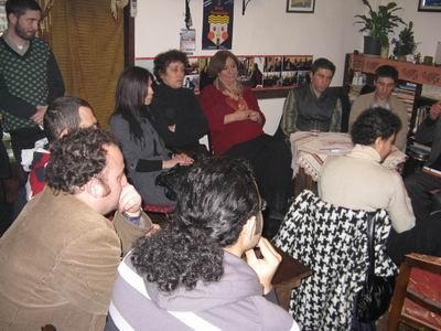 Kerim-Selim Altınok,Sanatçı Gülsen Tuncer ve izleyiciler