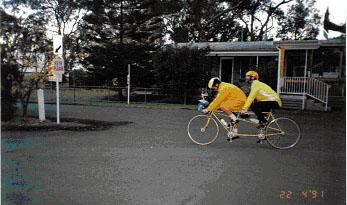 Tandem Bisiklet ve kör sporcu