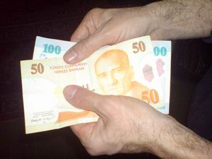 Parayı tanımlayan eller